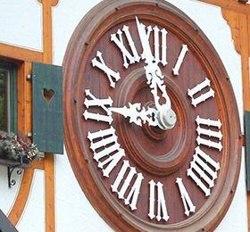 Uhrenpark weltgroesste Kuckucksuhr
