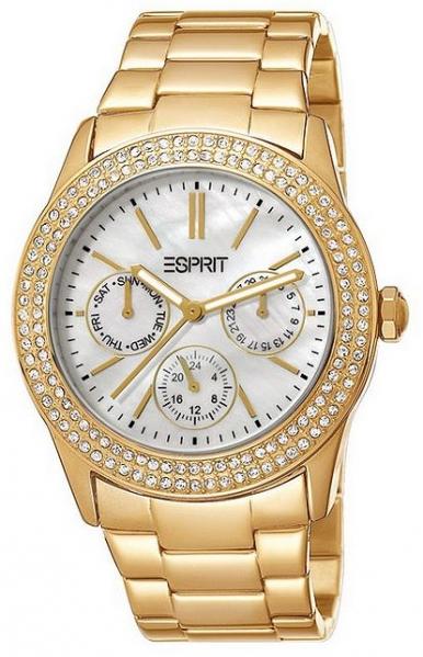 Esprit -peony gold mit Perlmutt-Ziffernblatt