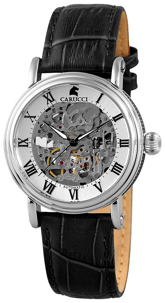 Automatik Armbanduhr Carucci Catanzaro II - CA2203BK
