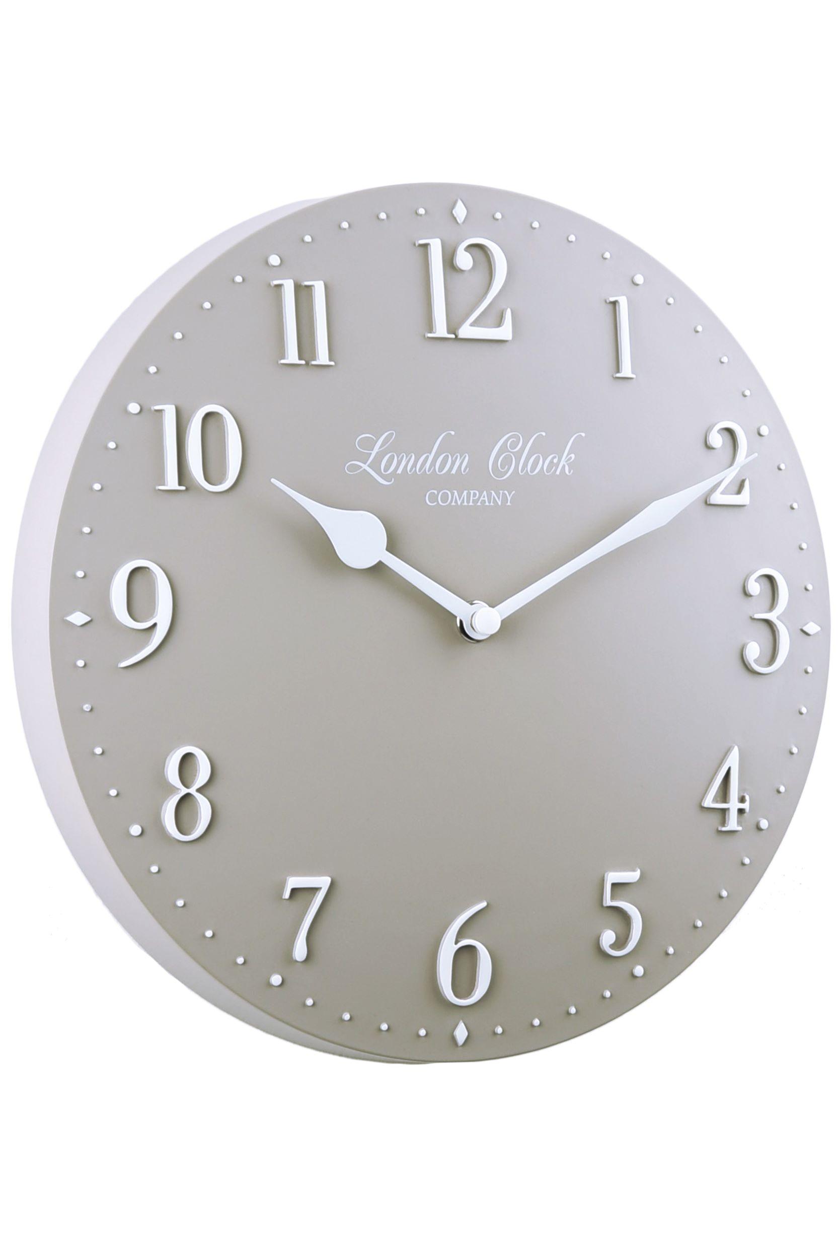 London reloj wanduhr 25cm 01108 reloj de pared con pilas - Mecanismo reloj pared ...