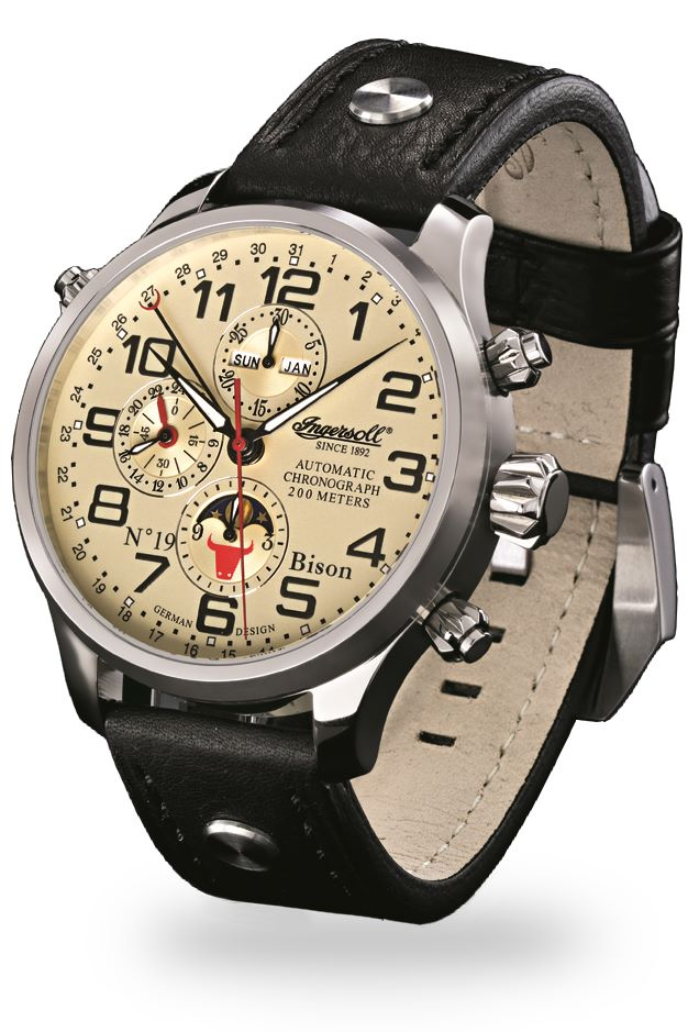 Chronograph Ingersoll -Bison N0.19- IN6106CR
