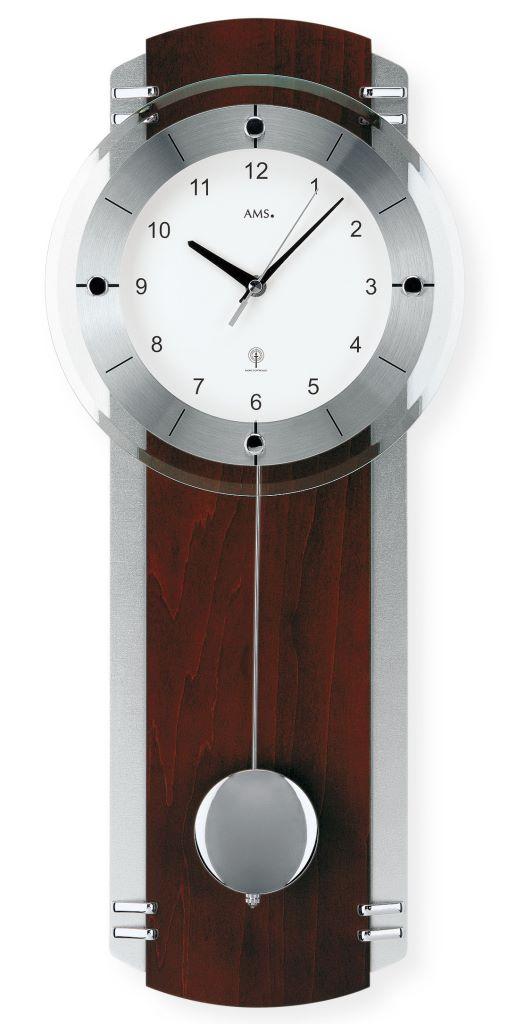 Ams 5245 1 moderno reloj de pared con mecanismo radio - Mecanismo reloj pared ...